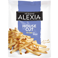 Nothing beats the taste of House Cut Fries with Sea Salt from Alexia Foods. Discover the delicious difference of these all natural, classic julienne fries.