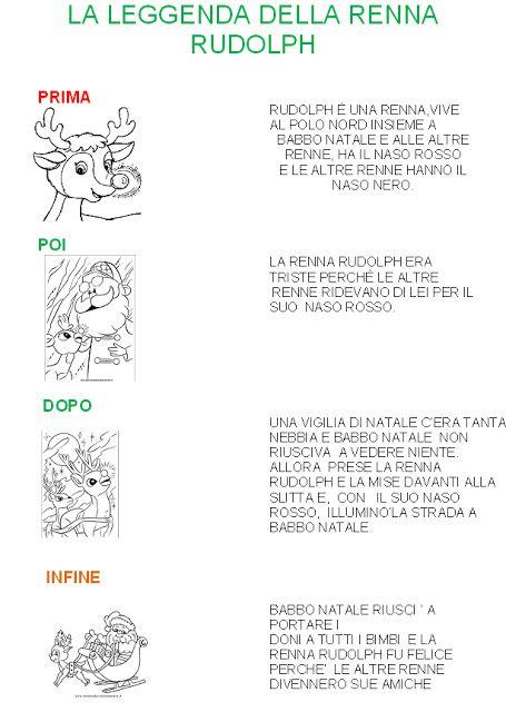 La scuola in cartella la leggenda di rudolph la renna for Storie di natale per bambini