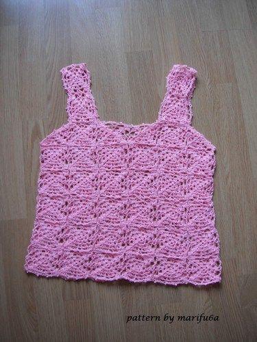 Easy Crochet Summer Top Pattern Pdf Nr 44 In 2018 Top Crochet