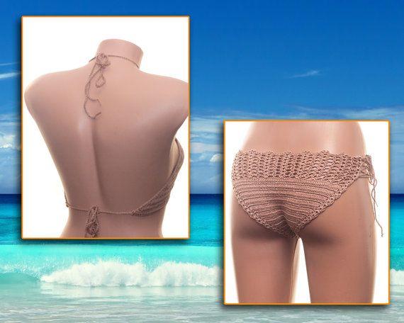 Crochet bikini set Beach Wear Summer clothing by LoveKnittings