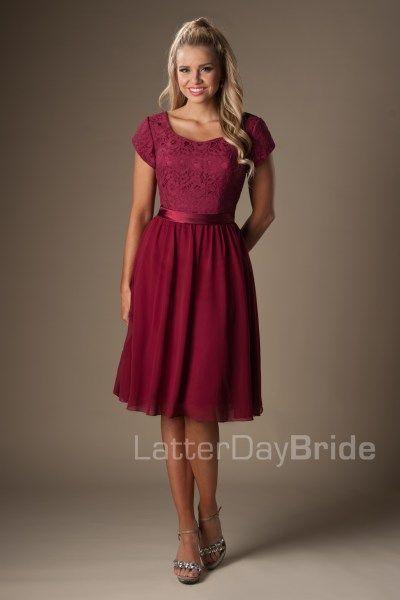 d1142c57fe modest bridesmaid dresses with lace