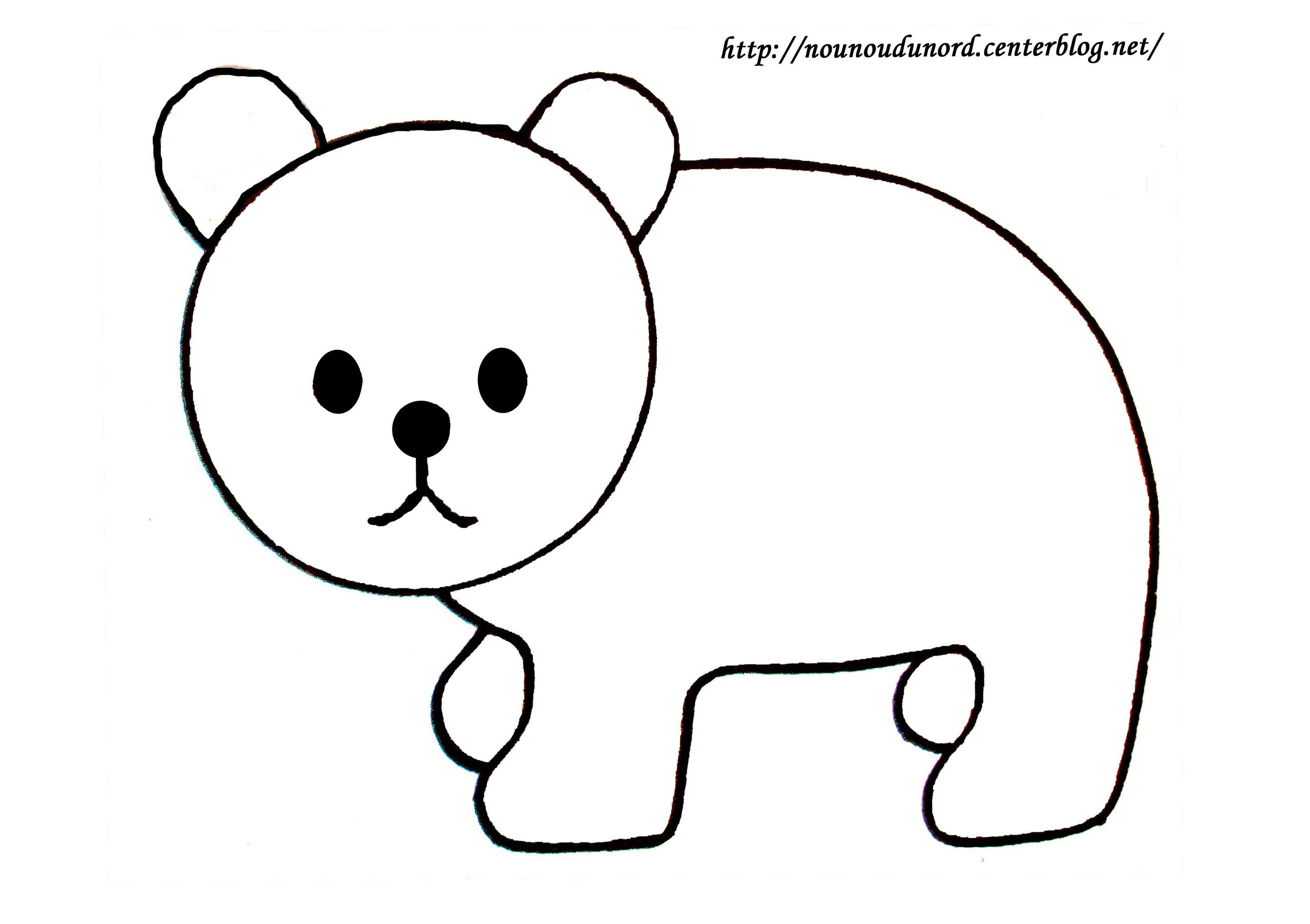 Desin Facile Comment Dessiner Des Ours Pochoir Pinterest Ink Et Hello Kitty