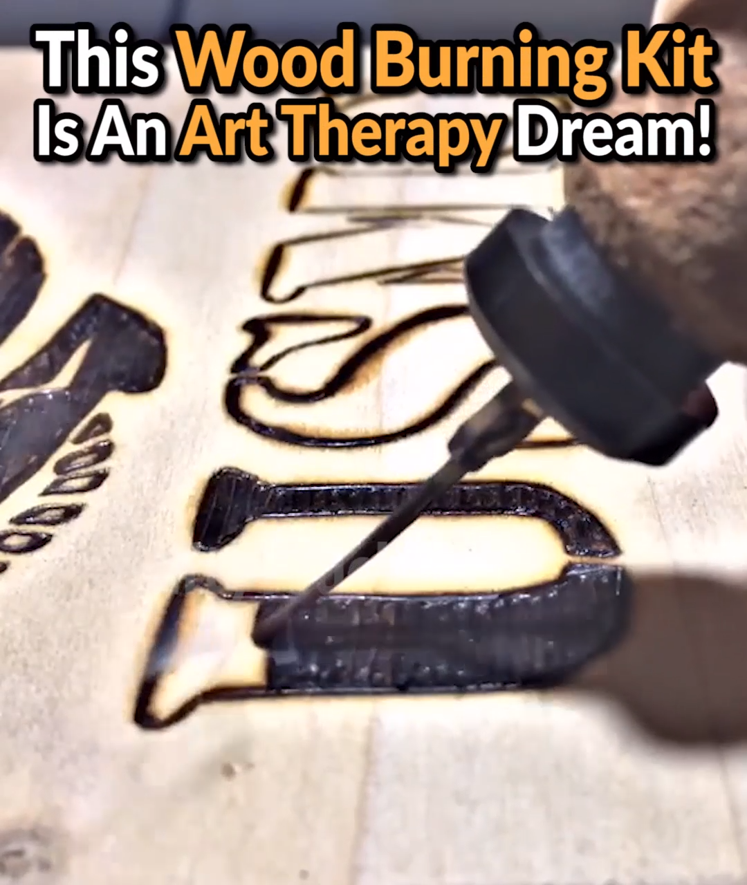 ��Relax With The Art Of Pyrography - 50% OFF