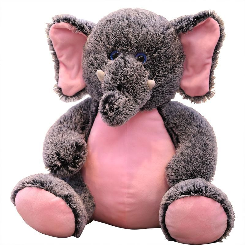 Pink Elephant Monkey Stuffed Animal Plush Toy Giraffe Stuffed