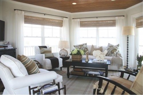 Neutral With Dark Furniture To Anchor