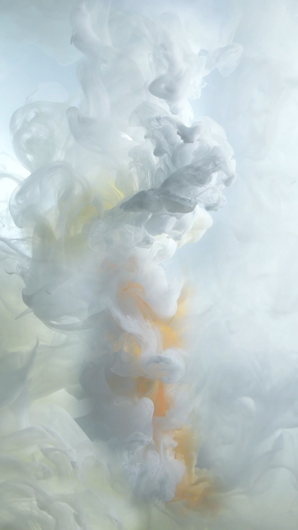 Iphone 7 Live Wallpaper Ink White Official Ios 10 Stock Wallpaper Wallpapers Central Live Wallpaper Iphone Iphone 6s Wallpaper Smoke Wallpaper