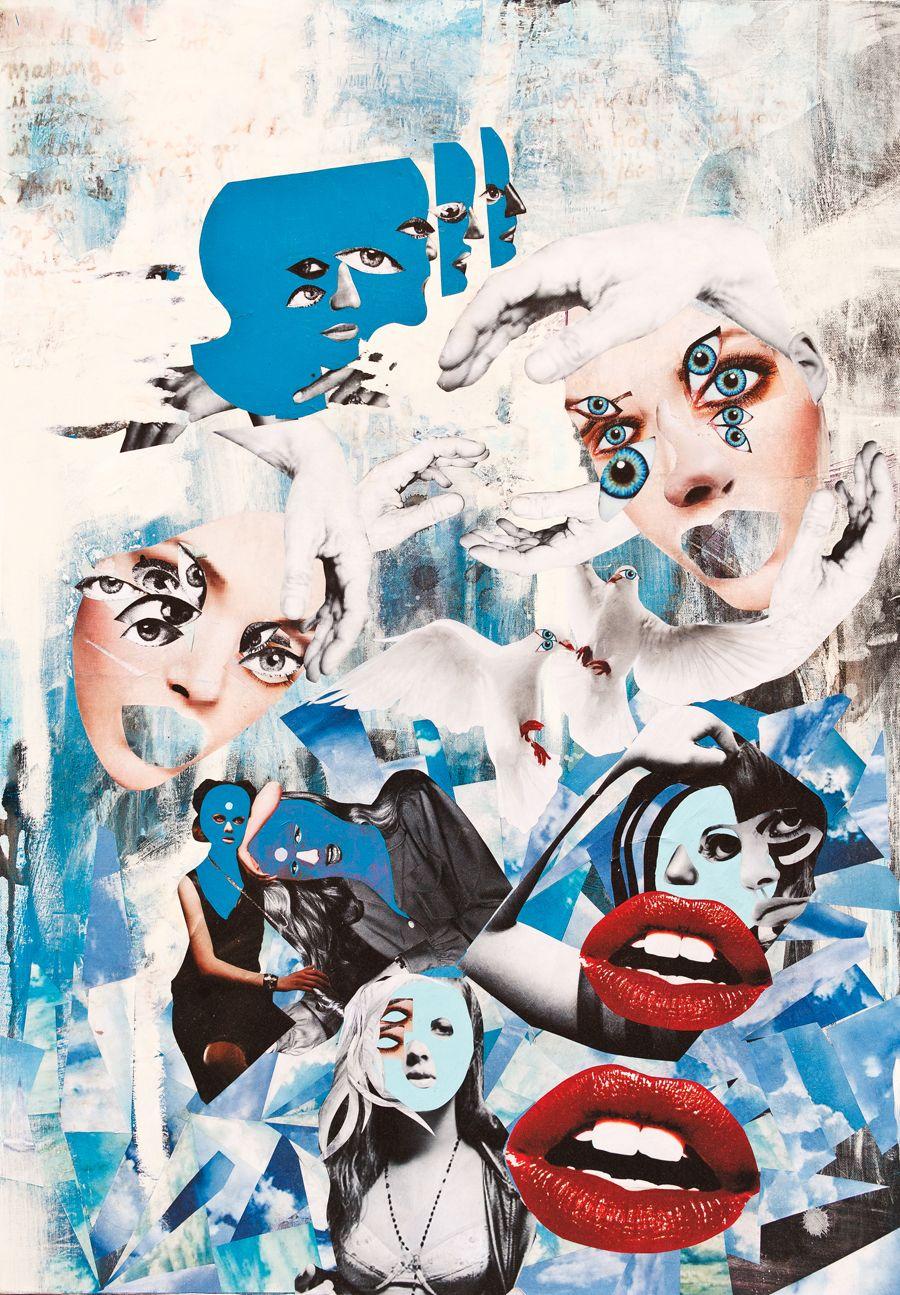 Artist schoph schophield abstract painting artist