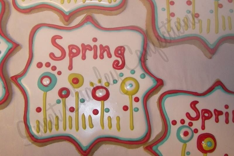 spring sugar cookies https://www.facebook.com/sweetcharleyconfections
