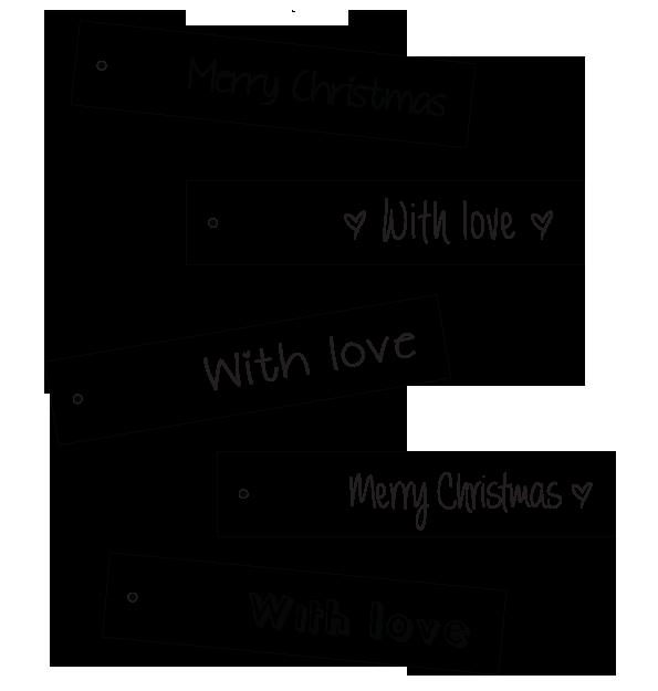 Printable Gift Tags by Blikfang