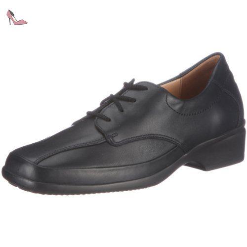 Ganter ERIC, Weite G, Derbies à lacets hommes - Noir - Noir (0100), 47