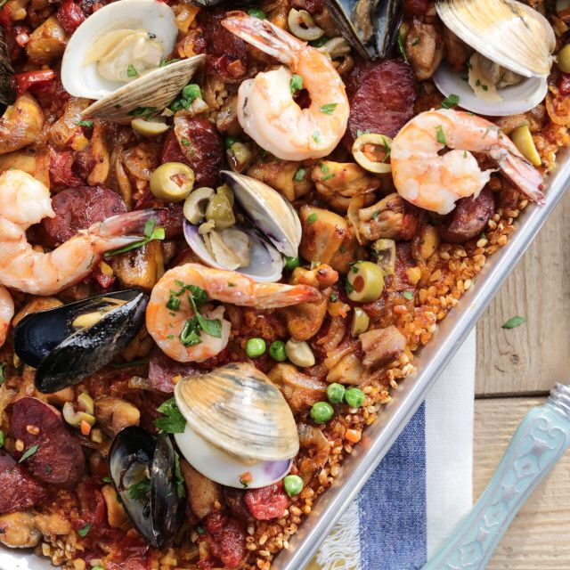 Valeries super easy oven paella recipe pinterest paella valeries super easy oven paella recipe pinterest paella valerie bertinelli and super easy forumfinder Choice Image