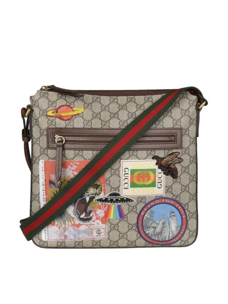 06fb32ef10e9 GUCCI Gucci Gucci Courrier Soft Gg Supreme Shoulder Bag. #gucci #bags # shoulder bags #leather #