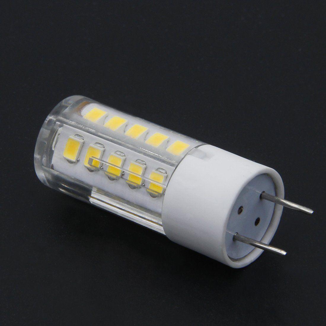 Bqhy 5pack G8 Led Bulb 120v T4 G8 Base Bipin Xenon Jcd Type Led Halogen Replacement Bulb 25w Equivalent Warm White 3000k Check Out T Light Bulb Bulb Led
