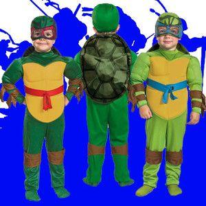 Adult Mens TV Show TMNT Teenage Mutant Ninja Turtles Raph Mike Leo Don Costume