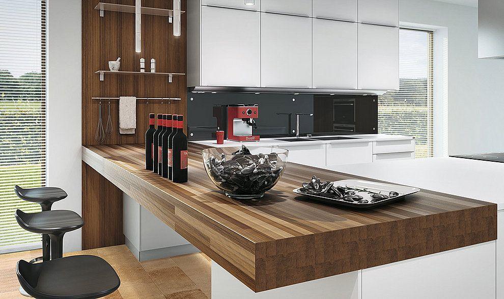 Kochen & Essen küche mit integriertem essplatz Küche ...