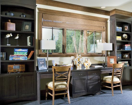 Awesome person desk for home office ideas traditional classic wooden cabinets with drawers and also best two design your workspace rh pinterest