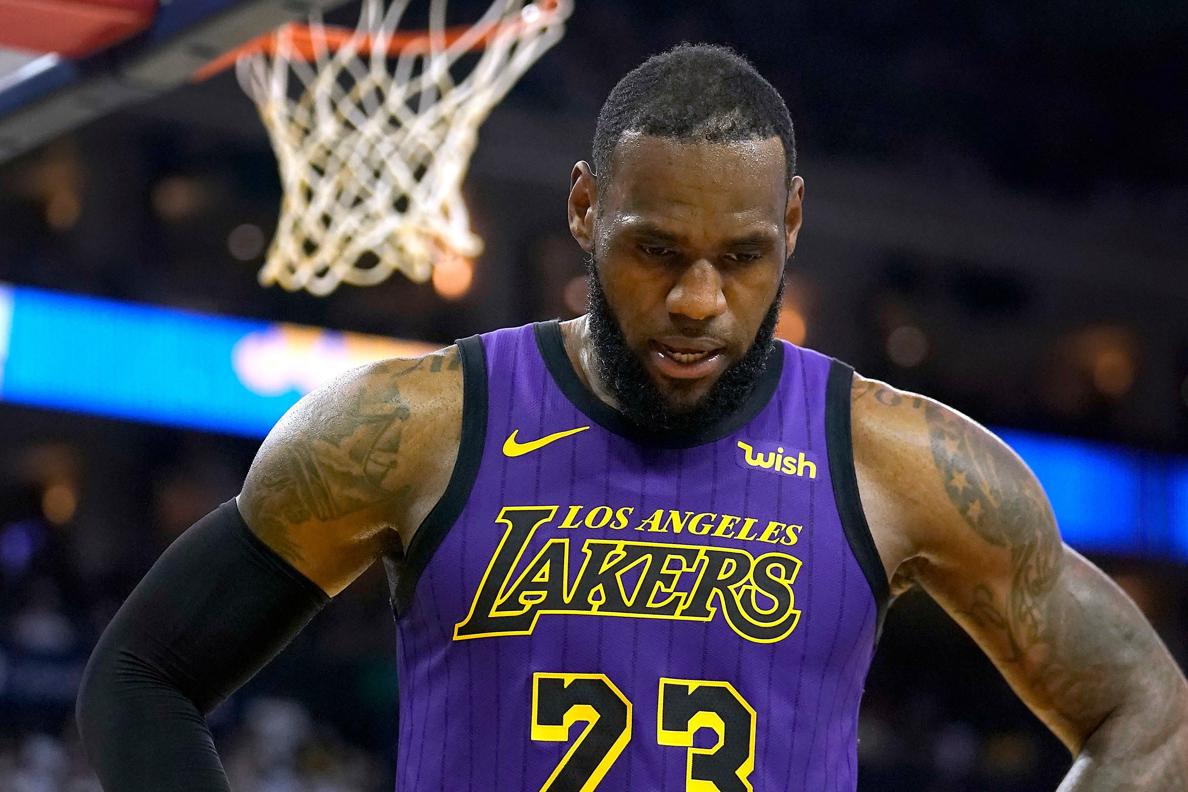 NBA Rumors LeBron James age means trouble for Lakers