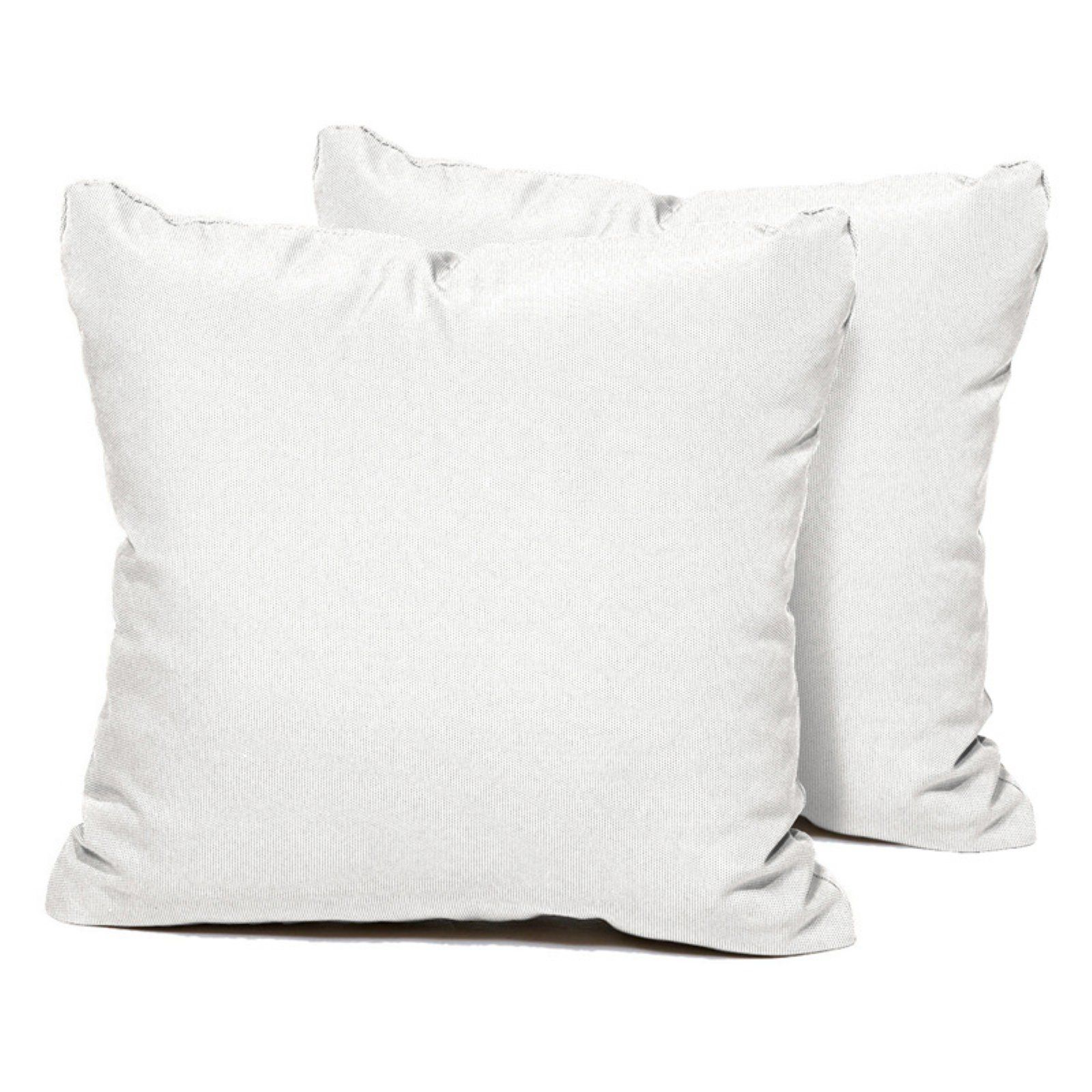 Tk Classics Decorative Square Outdoor Throw Pillows White In 2019