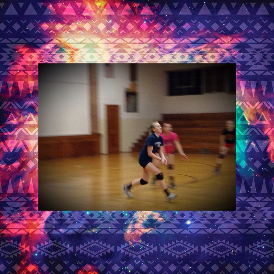 This Is Me Passing A Vball I Volleyball Springfield Juniors Volleyball Painting I Passed