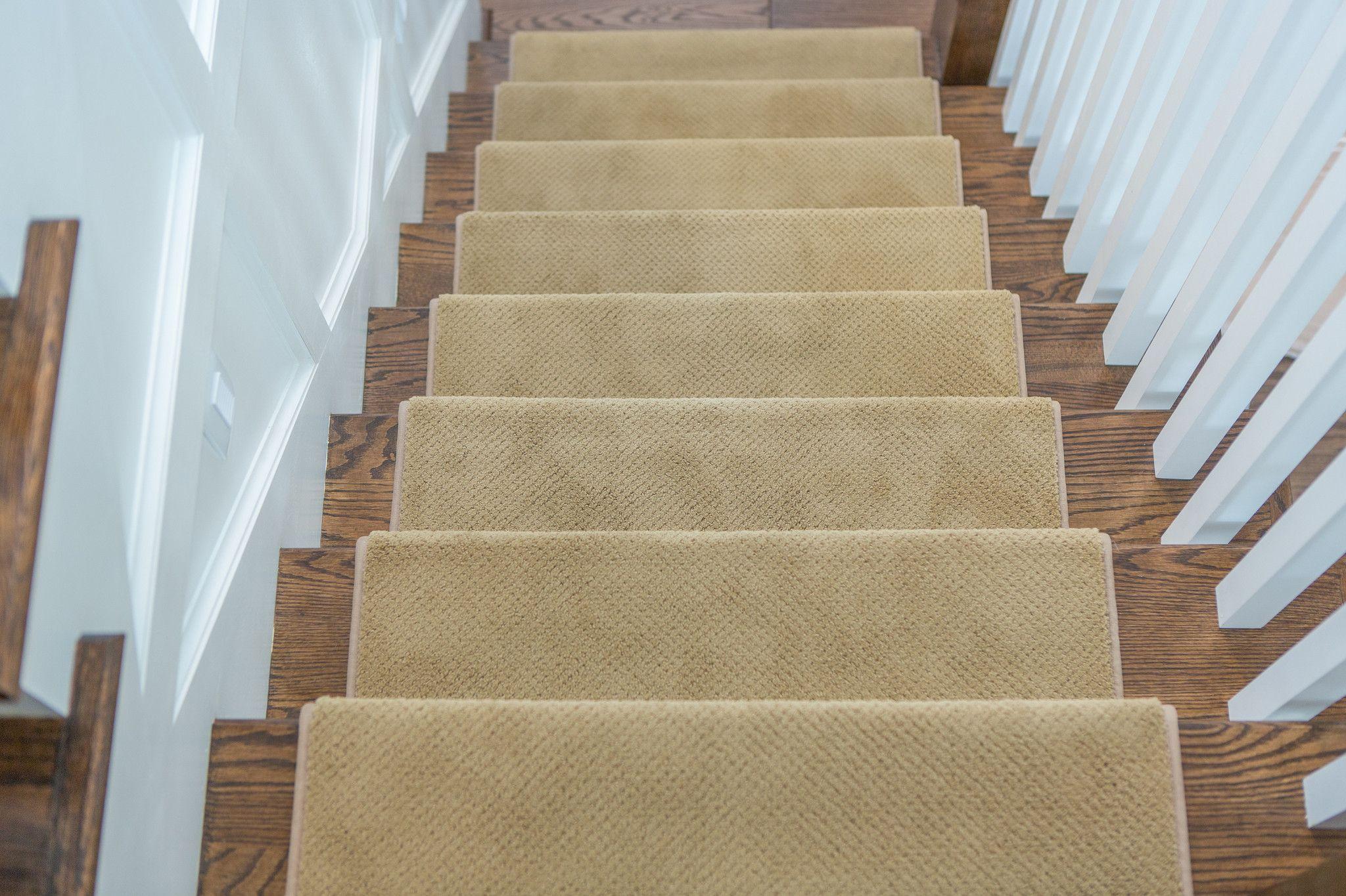 Best Warwick Adhesive Bullnose Carpet Stair Tread Carpet 400 x 300