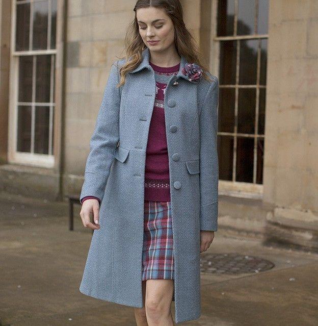 Bunty Coat - Coats & Jackets from Ness Clothing
