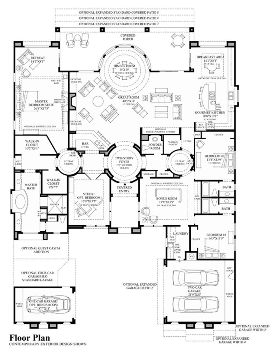Toll Brothers Venado Floor Plan Floor Plans How To