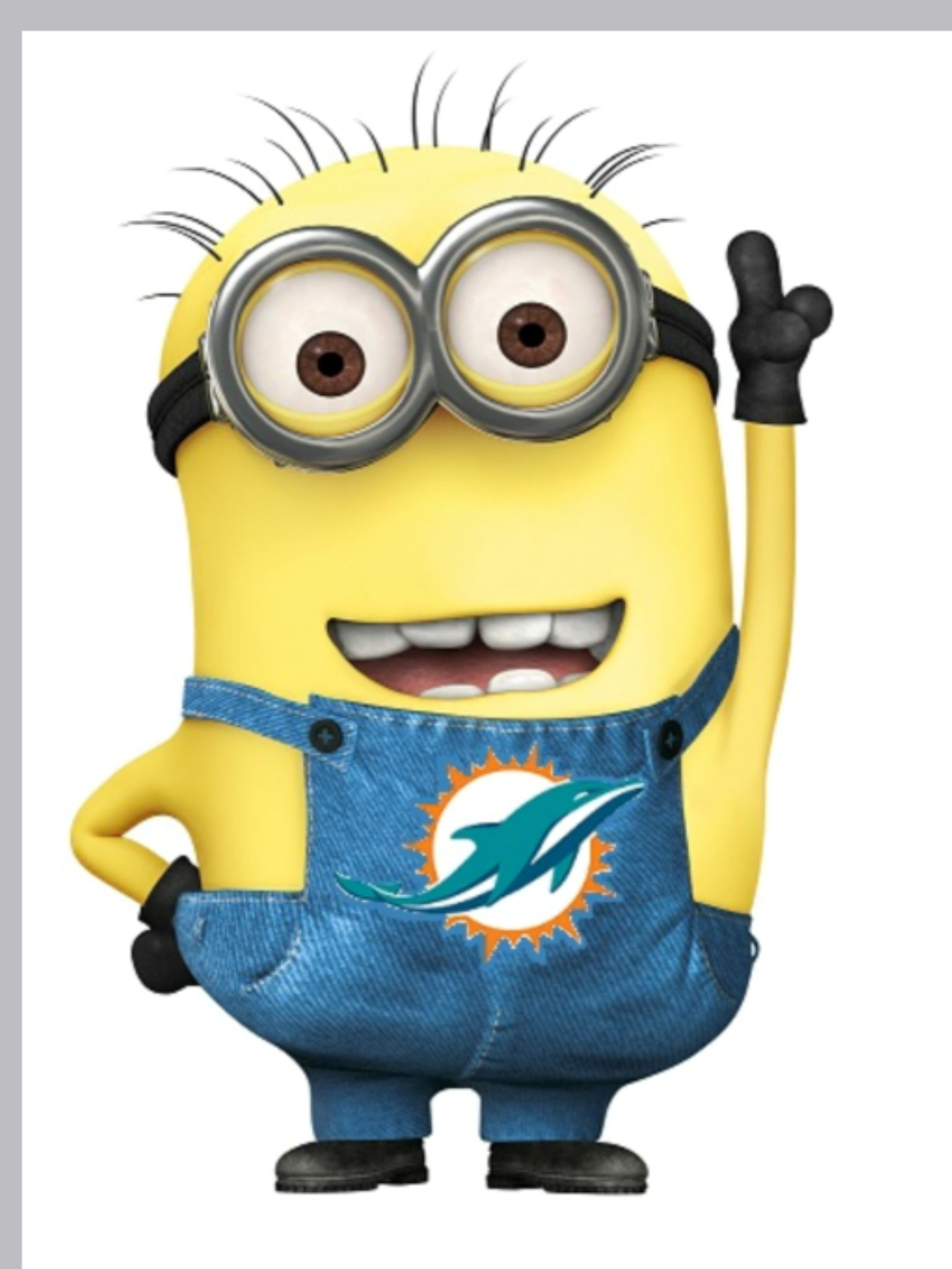 Even The Minions Love The Miami Dolphins Nfl