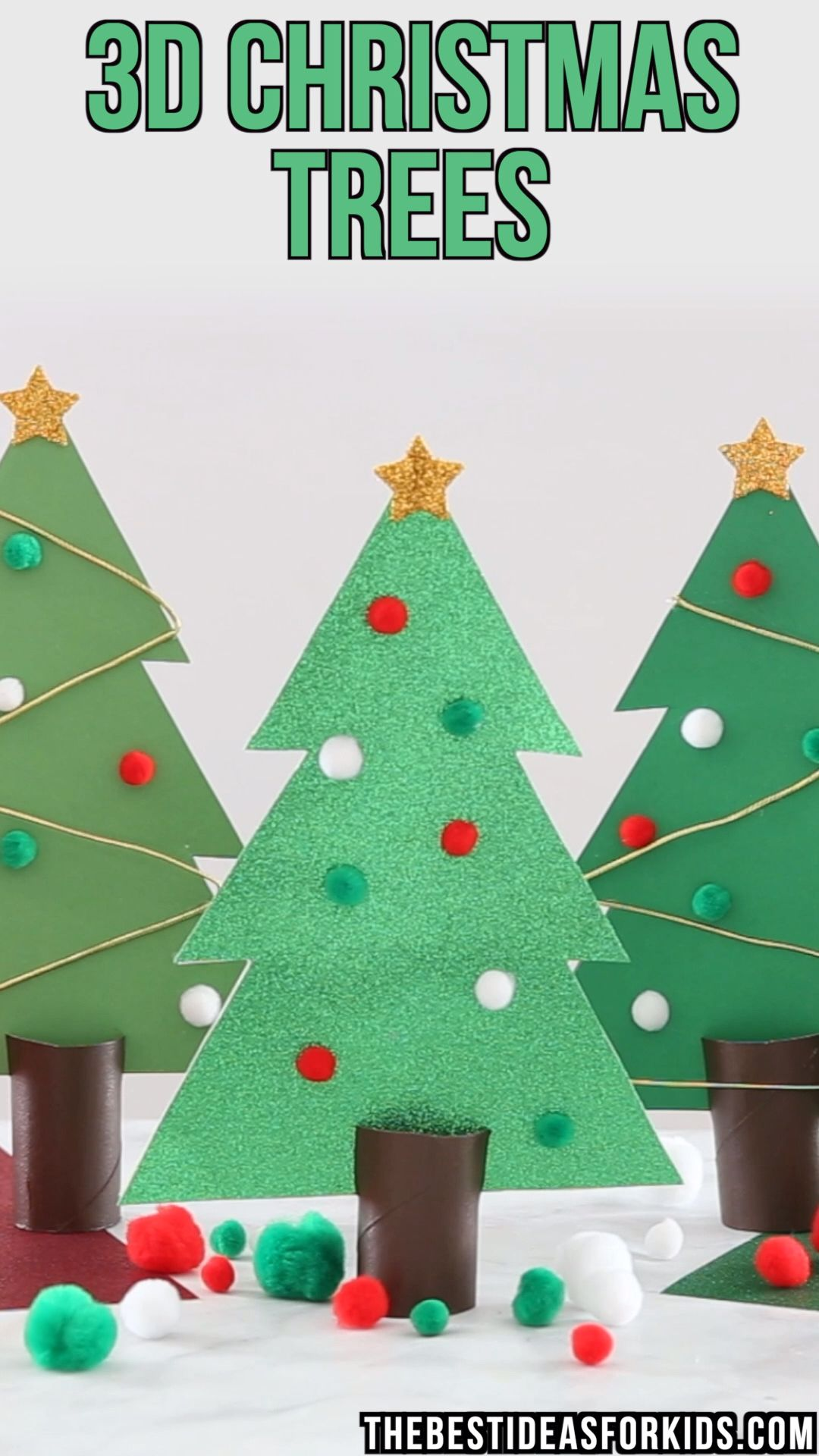 Christmas Tree Outline primary school craft