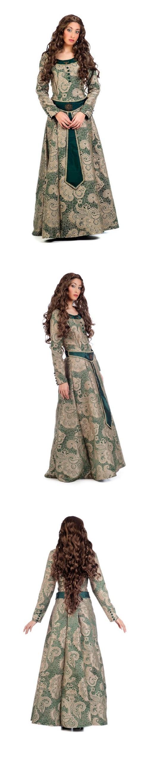 Trajes medievales mujer lujo