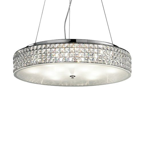 Ideal Lux Roma 12 Light Crystal Chandelier In 2019 Chandelier