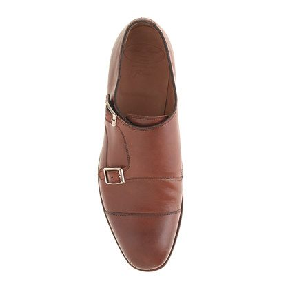 3b3d6b5f8c001 Alfred Sargent™ for J.Crew double monk strap shoes - Alfred Sargent for J. Crew - Men's shoes - J.Crew