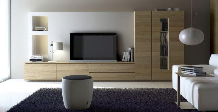Salo de mobles ciurans amb panell de tv mobles - Mobles roig granollers ...