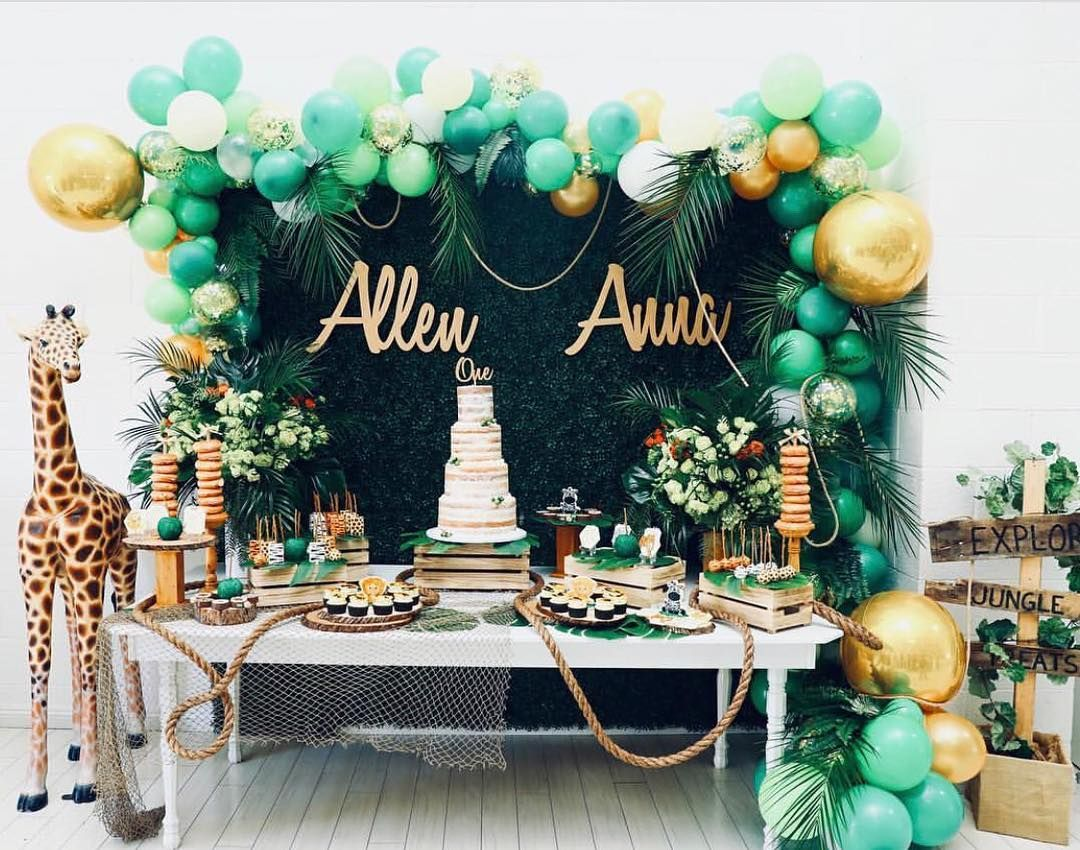 394 Likes 11 Comments Party Ideas Vendor Info Asliceoftheparty On Instagram Lions And Safari Theme Birthday Safari Birthday Party Safari Birthday