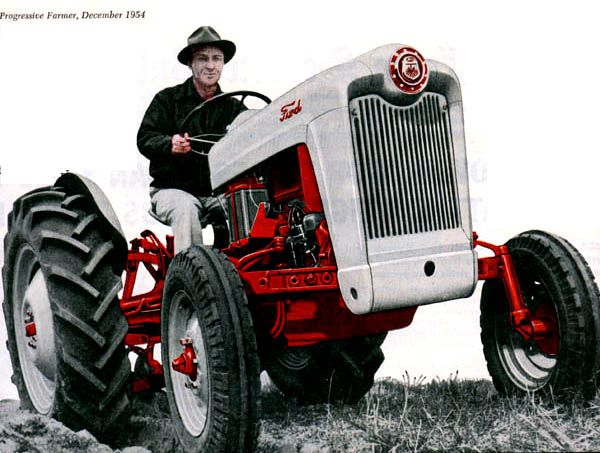 1954 Ford tractor # jorgenca