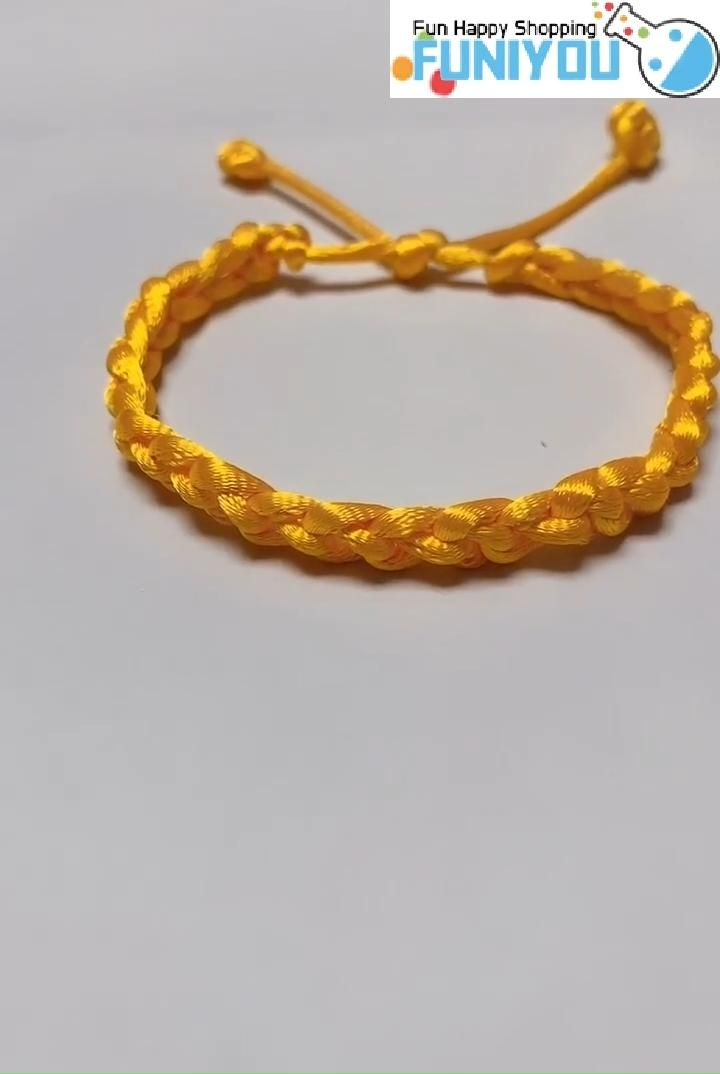 Photo of Only One String for DIY Bracelet ! 😃