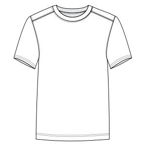 5d36b797524d Patronaje industrial: patrones moldes ropa para Marcas Líderes Camiseta  corriendo 3050 HOMBRES Remeras