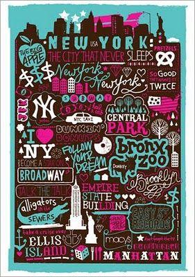 New York - by sophiehenson.com
