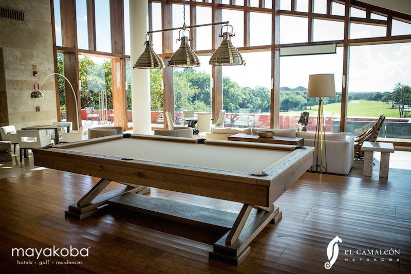 Friday means it's time to #PLAYmayakoba! Finish up a round of Mayakoba Golf Course, El Camaleón and then you start your first game of pool…