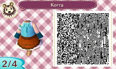 Korra S Garb From Avatar Legend Of Korra Animal Crossing