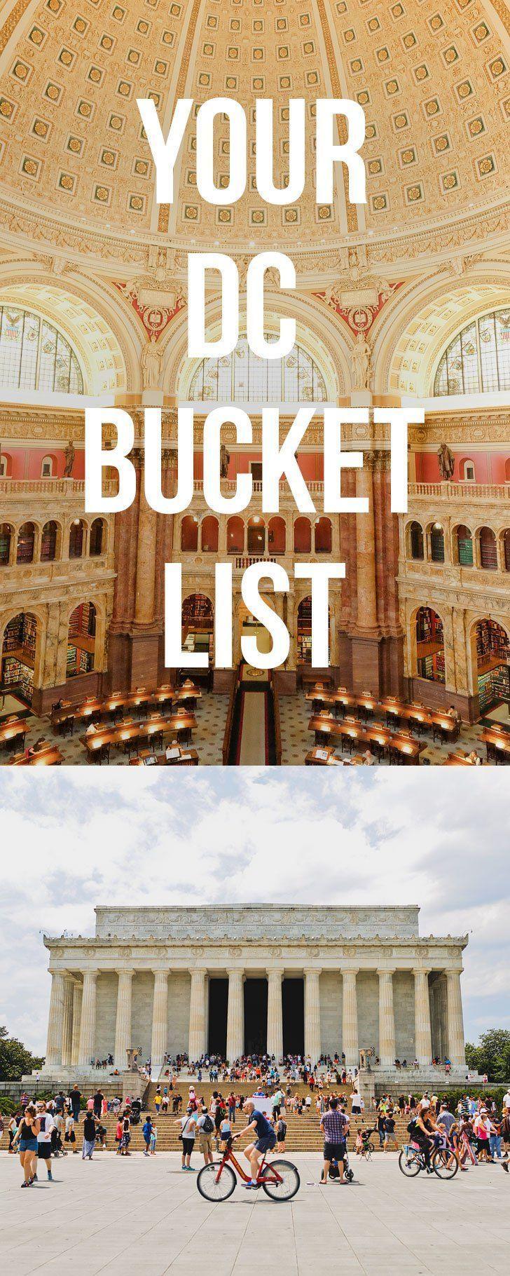 101 Things to Do in DC - The Ultimate Washington DC Bucket List // localadventurer.com #washingtondc #dc #usa #travel #wanderlust