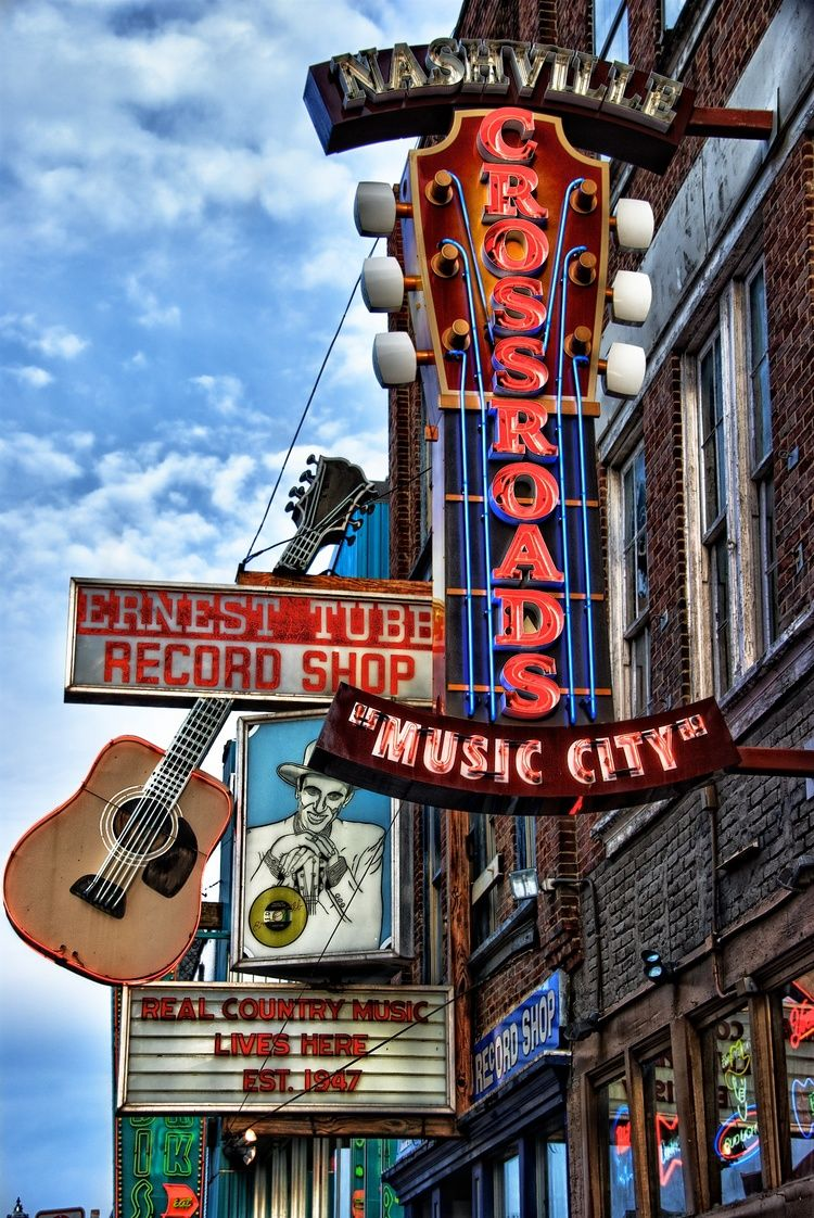 Ride the Row — Take a tour of Music Row and visit historic