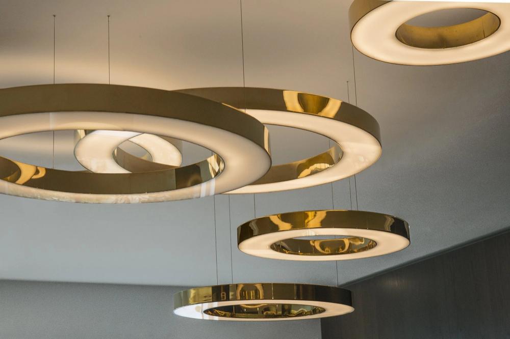 Mahlu Chandelier Mooielight Circular Pendant Light Transitional Chandeliers