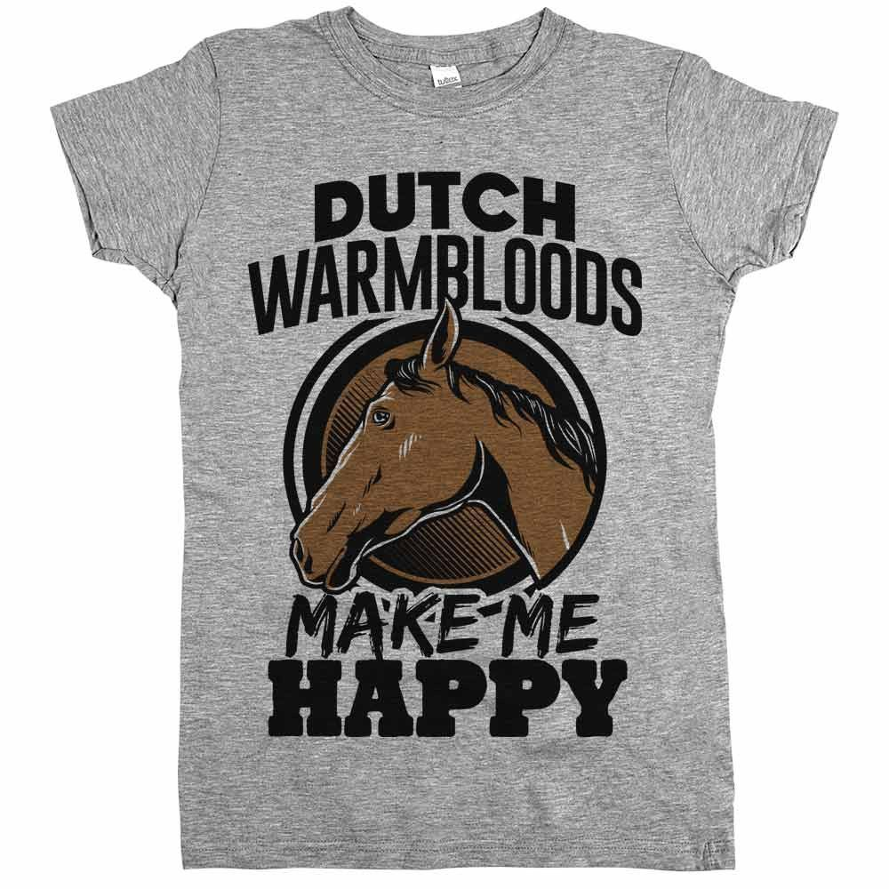 'Dutch Warmbloods Make Me Happy'
