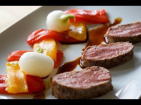 Vid o filet d 39 agneau cuisson sous vide basse temp rature avec le sansaire puis la plancha - Plat cuisine sous vide ...