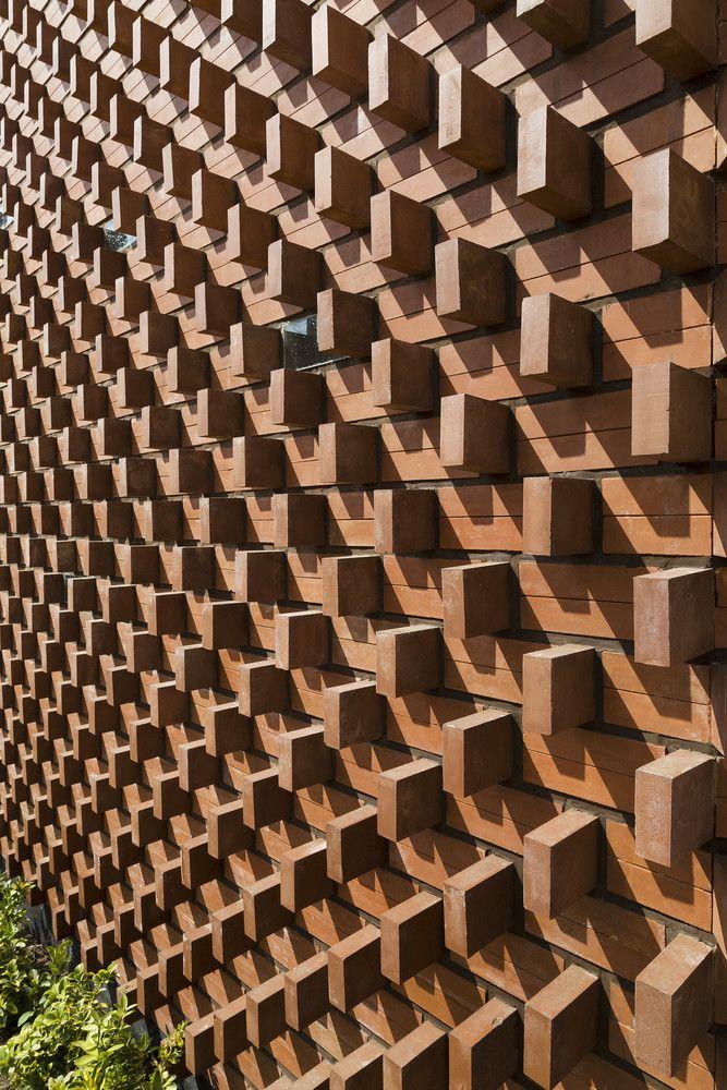 Gallery of aperture admun design construction studio for Brick designs