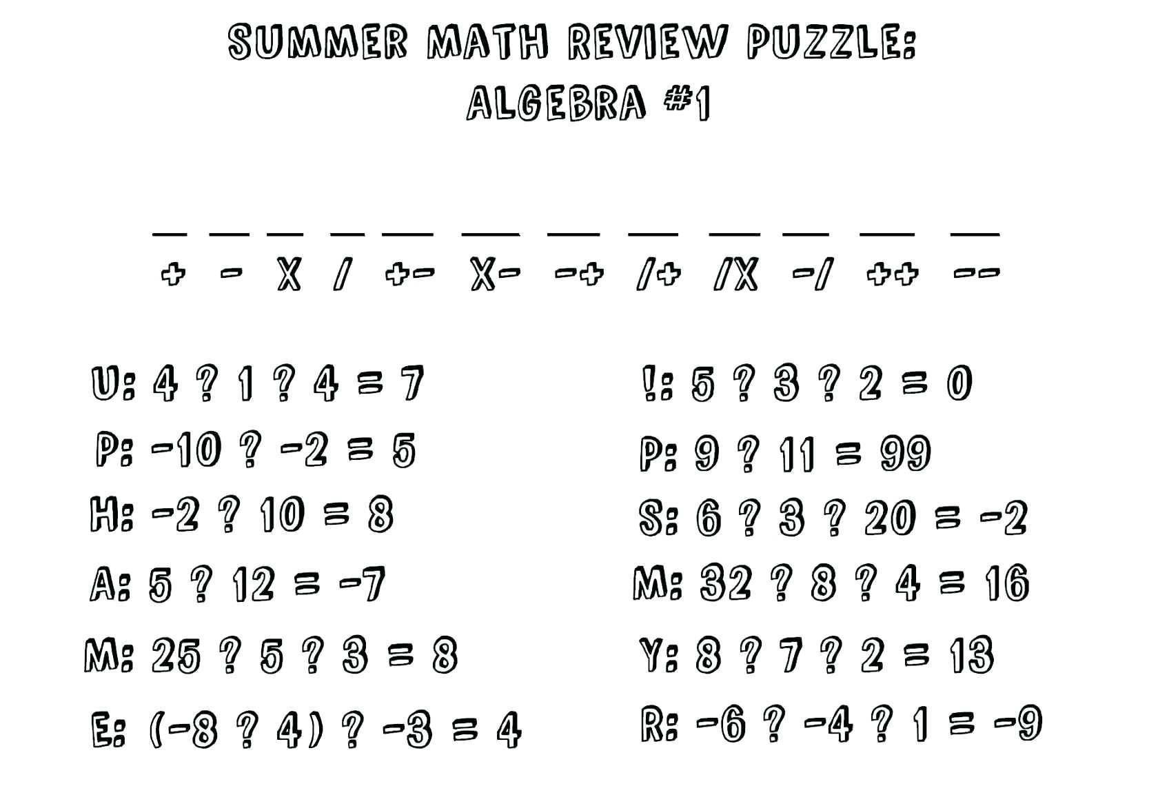 51 Free Download Math Worksheet For Grade 2 Math Worksheets High School Algebra School Algebra