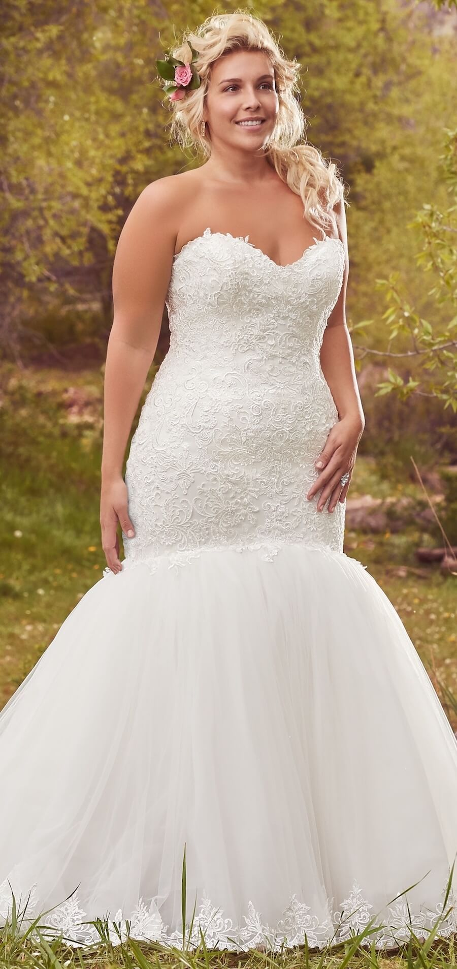 Flattering Plus Size Wedding Gowns For The Stylish And Romantic Bride Belle The Magazine Plus Size Wedding Gowns Wedding Dresses Plus Size Maggie Sottero Wedding Dresses [ 1907 x 900 Pixel ]