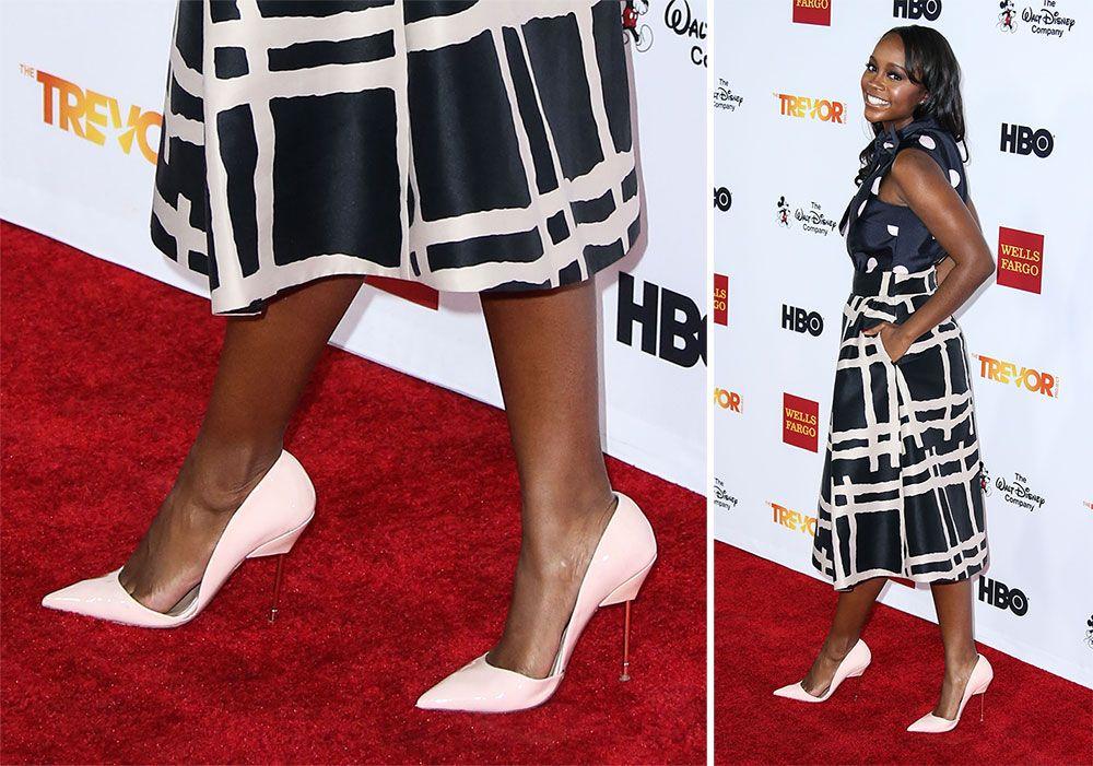 14b5ebefc3 Aja Naomi King- Kurt Geiger Britton Pumps | shoes news | Designer ...