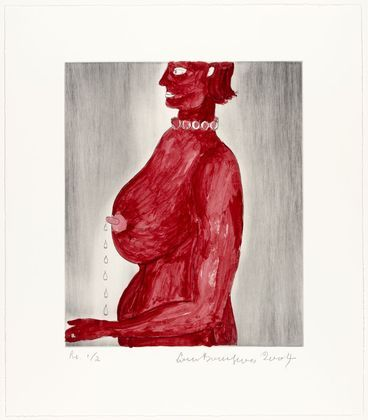Louise Bourgeois, The Bad Mother, 2004.