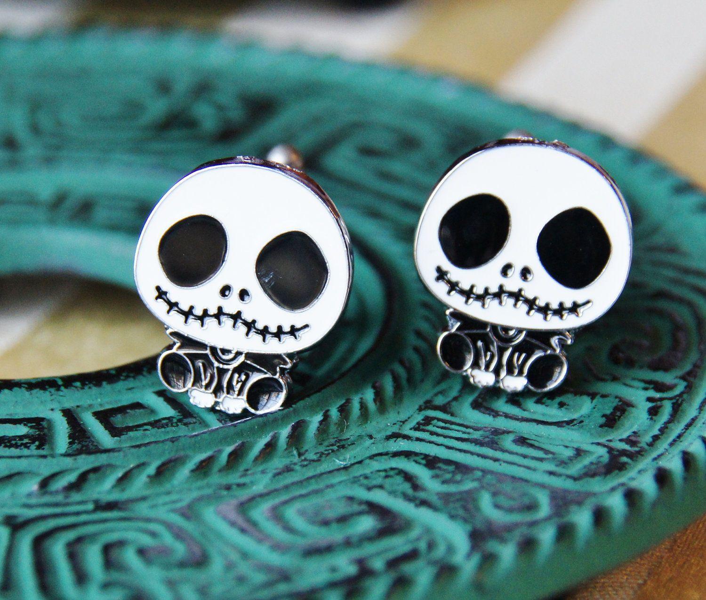 Perfect Gifts for Men - Zombie Cufflinks - SKULL - Tuxedo Skeleton ...